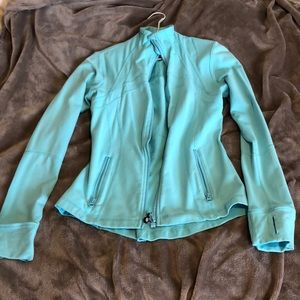 Light blue lululemon define jacket